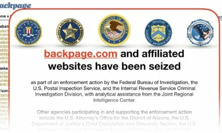 Backpage.com Shut Down by U.S. Authorities