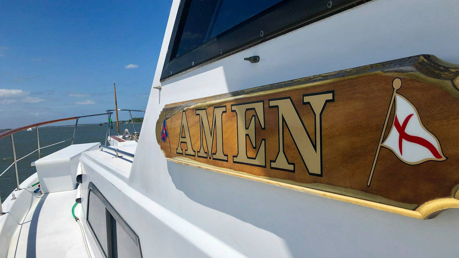 "Boat Named ""Amen"" Saves Two Teens Pulled Out to Sea"